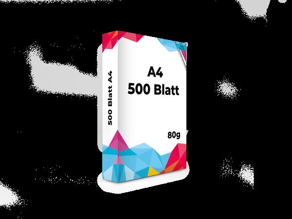 A4 80g Druckerpapier 500 Blatt Set