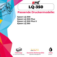Kompatibel für Epson LQ 300 Plus / C13S015633 Farbband Schwarz