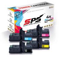 4er Multipack Set Kompatibel für Kyocera Ecosys M5521 Drucker Toners Kyocera 1T02R90NL0 TK-5230K Schwarz, 1T02R9CNL0 TK-5230C Cyan, 1T02R9ANL0 TK-5230Y Gelb, 1T02R9BNL0 TK-5230M Magenta
