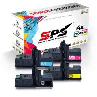 4er Multipack Set Kompatibel für Kyocera Ecosys P5021 Drucker Toners Kyocera 1T02R90NL0 TK-5230K Schwarz, 1T02R9CNL0 TK-5230C Cyan, 1T02R9ANL0 TK-5230Y Gelb, 1T02R9BNL0 TK-5230M Magenta