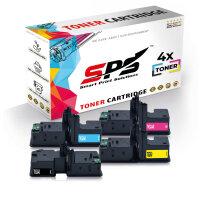 4er Multipack Set Kompatibel für Kyocera Ecosys M5526 Drucker Toners Kyocera 1T02R70NL0 TK-5240K Schwarz, 1T02R7CNL0 TK-5240C Cyan, 1T02R7ANL0 TK-5240Y Gelb, 1T02R7BNL0 TK-5240M Magenta