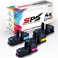 4er Multipack Set Kompatibel für Kyocera Ecosys P5026 Drucker Toners Kyocera 1T02R70NL0 TK-5240K Schwarz, 1T02R7CNL0 TK-5240C Cyan, 1T02R7ANL0 TK-5240Y Gelb, 1T02R7BNL0 TK-5240M Magenta