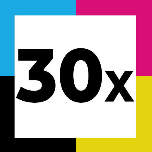 30er Set (12 x Schwarz/6 x Cyan/6 x Magenta/6 x Gelb)