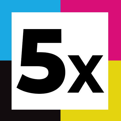 5er Set (1 PGBK, 1 Schwarz, 1 Cyan, 1 Magenta, 1 Gelb)